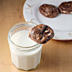 Chocolate Brownie Cookies with White Chocolate and Roasted Macadamia Nuts {joy the baker spotlight}