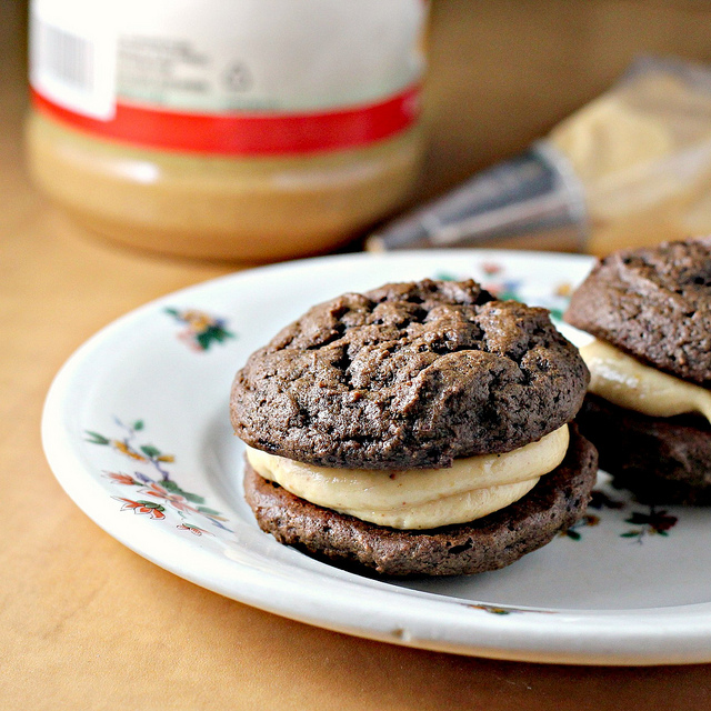 Chocolate Peanut Butter Whoopie Pies {Joy the Baker Spotlight}...and a ...