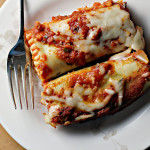 Sweet Potato Spinach Pesto Lasagna Rolls {eat.live.be.}