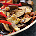Asian Eggplant Stir Fry and a Book Review