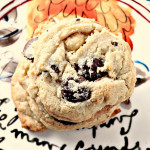White and Dark Chocolate Coconut Macadamia Cookies