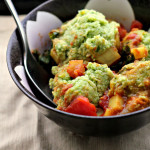 Braised Chickpea Dumplings with Vegetables
