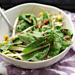 Red Rice and Edamame Salad with Lemon-Miso Dressing