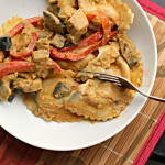 Butternut Squash Agnolotti with Thai Peanut Sauce…and a GIVEAWAY!
