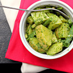 Pesto Potato Salad with Green Beans