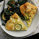 Summer Squash and Ricotta Galette {eat.live.be}