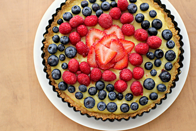 balsamic pie 610x458 1 thumb 625xauto strawberry balsamic custard tart ...