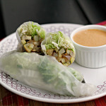 Summer Rolls with Peanut Sauce {food matters project}