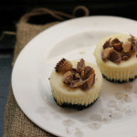 Peanut Butter Cup Cheesecake Cupcakes