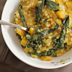 Barley Risotto with Butternut Squash and Gruyere