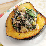 Acorn Squash Boats with Quinoa {12 Weeks of Winter Squash}