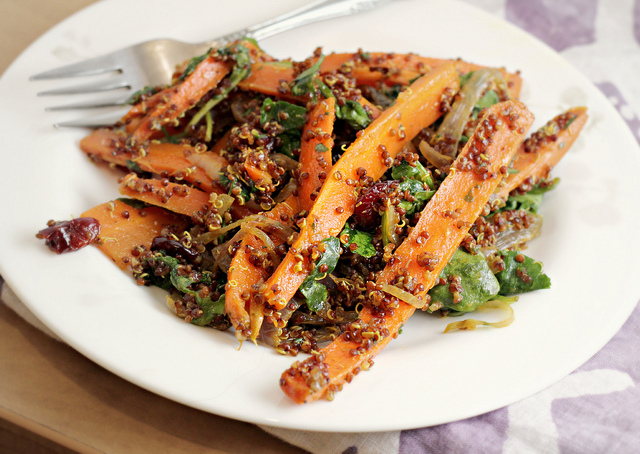 Cider-Glazed Carrot And Quinoa Salad Recipes — Dishmaps