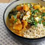 Thai Tofu and Winter Squash Stew {12 weeks of winter squash}