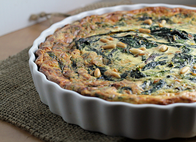 Swiss Chard and Saffron Tart | Joanne Eats Well With Others