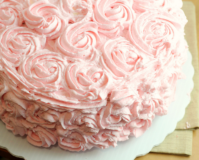 Pink Champagne Recipe Cake