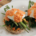 vegetable eggs benedict