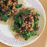 Za'atar and Aleppo Pepper Roasted Potato, Bean and Swiss Chard Tacos