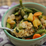Vegetables in Spiced Broth Over Millet {GIVEAWAY}