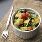 Cornbread and Black Bean Panzanella {#ILoveAvocados for Cinco de Mayo Sweepstakes}