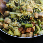 Malaysian Hot-and-Sour Noodles with Tofu and Bok Choy