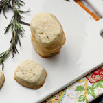 Rosemary Lemon Shortbread {The Leftovers Club}
