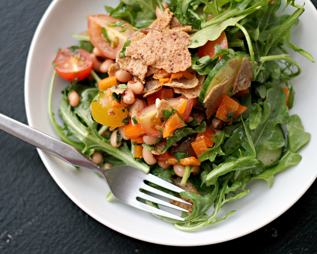 Southern Fattoush Salad