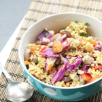 Thai Millet Salad with Peanut-Ginger Dressing