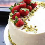 Strawberry Rhubarb Dream Cake
