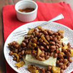 Black Eyed Peas and Grit Cakes