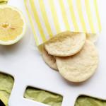 Lemon Crinkle Cookies {#TheLeftoversClub}
