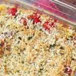 Summer Squash and Tomato Crumble