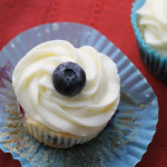 Blueberry Lemon Cupcakes {giveaway}