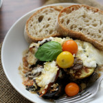 Gratin with Tomatoes, Eggplant and Chard