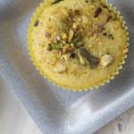 Lemon Pistachio Cornmeal Muffins