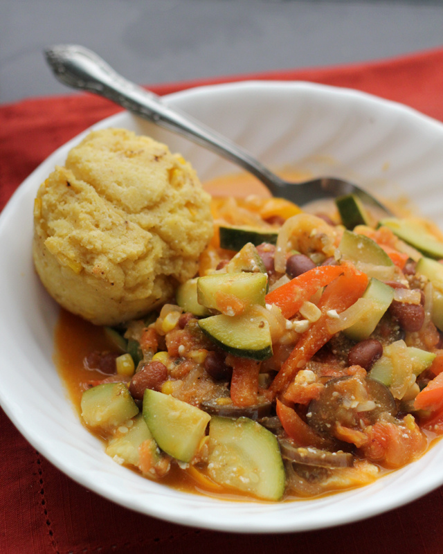 Late Summer Vegetable Stew