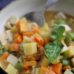 Coconut-Vegetable Thai Chowder #giveaway