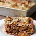 mole butternut squash lasagna