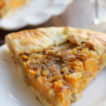 butternut squash and caramelized onion galette from Eats Well With Others