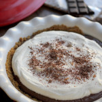 Chocolate Pudding Pie #PieWeek