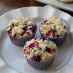 meyer lemon cranberry poppy seed muffins from Eats Well With Others