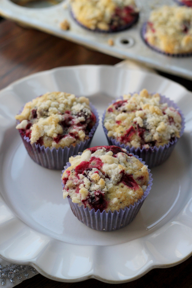 Lemon Cranberry Muffins From Cake Mix