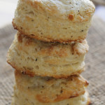 Salt-and-Pepper Biscuits with Rustic Cornmeal Swiss Chard Soup