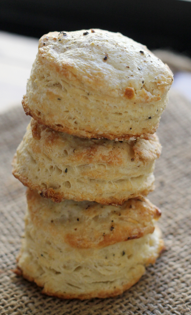 salt-and-pepper biscuits