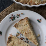 Brown Butter Basil Shortbread