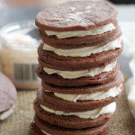 Salt-n-Pepper Sandwich Cookies #theleftoversclub