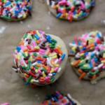 Sprinkle Cookies #fbcookieswap