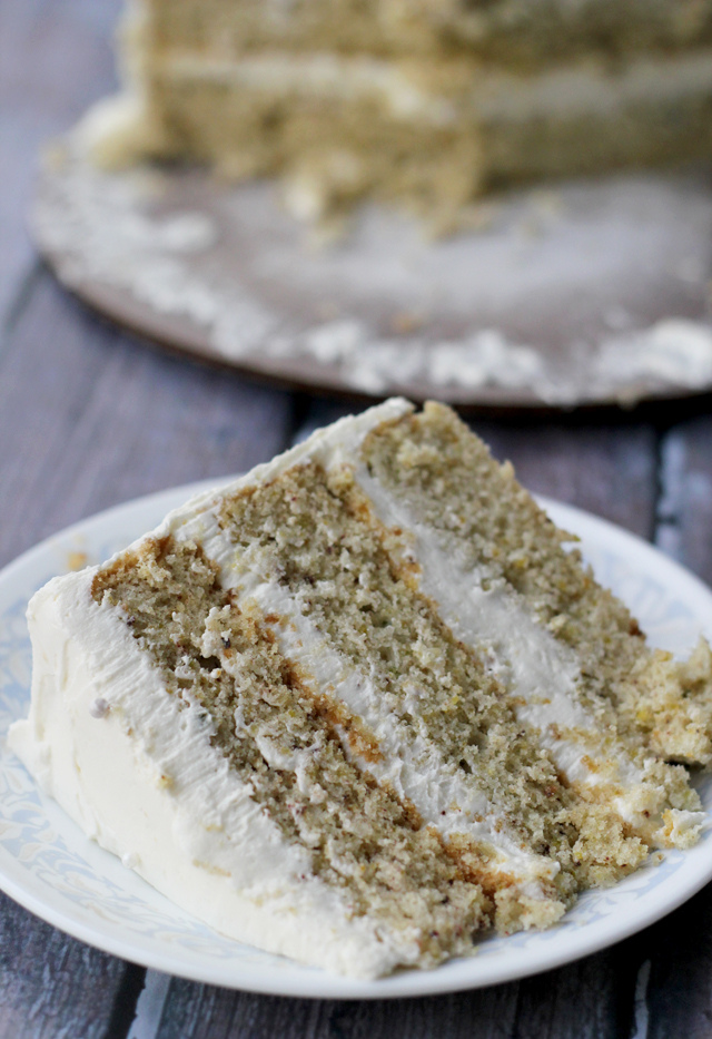 Pistachio And Lemon Syrup Cake Delicious