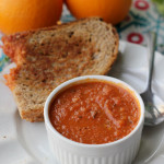 fire-roasted tomato orange soup
