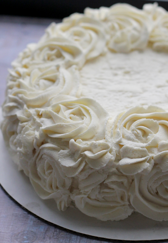 vanilla cloud cake