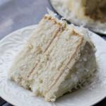 Coconut Cake with Silk Meringue Buttercream